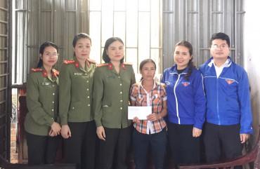 Hội phụ nữ cơ sở Phòng Quản lý Xuất nhập cảnh với nhiều hoạt động chào mừng kỉ niệm 110 năm Quốc tế phụ nữ 8-3